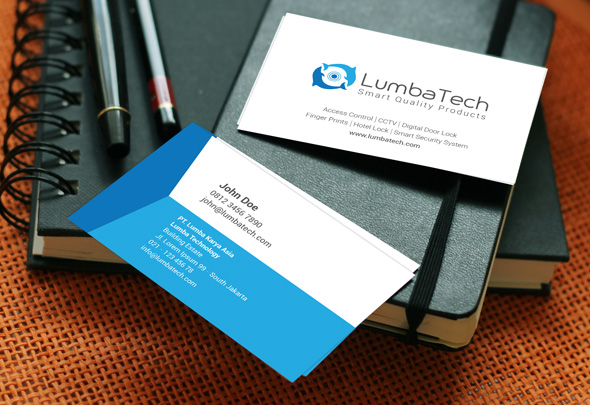lumbatech business card