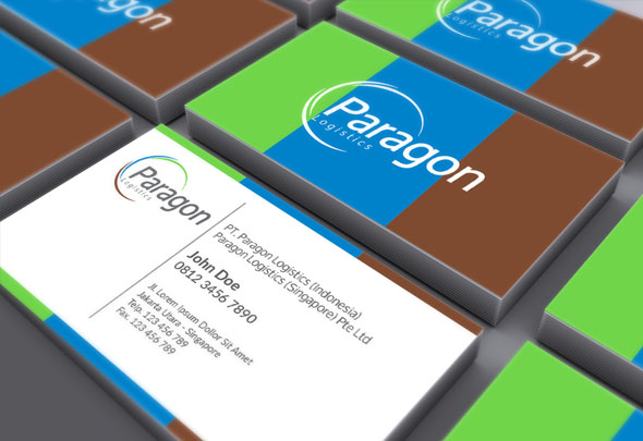 paragon business card
