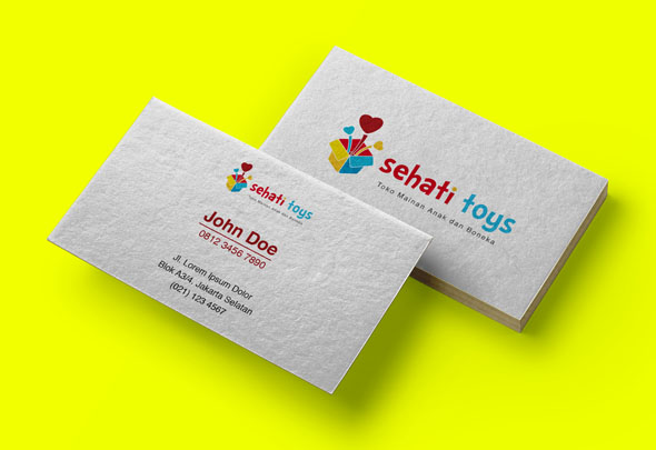 sehati toys business card