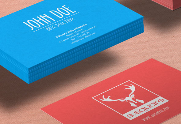 ssquare business card