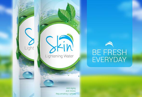 skin lightening water pembersih komedo