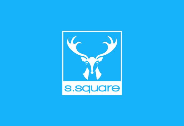 ssquare kids blue